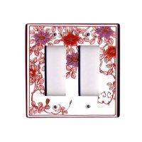 Nishiki tessen hanae (6 hole) plug socket cover