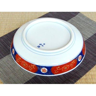 Photo4: Uenishiki sanpouwari botan houou DORABACHI Large bowl (27.3cm)
