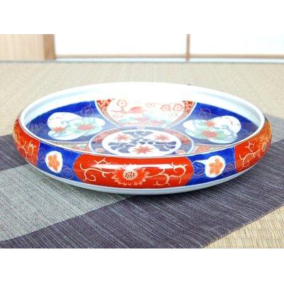 Photo2: Uenishiki sanpouwari botan houou TEPPACHI Large bowl (27.3cm)