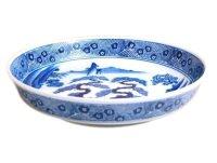 Sansui landscape DORABACHI Large bowl (27.3cm)