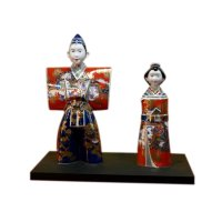 Ko-imari style Tachi Hina doll (a doll displayed at the Girls' Festival)
