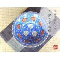 Ko-imari uzu nami-mon Large bowl (27.3cm)