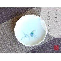 Seihakuji Kawasemi bird Small plate (12.3cm)