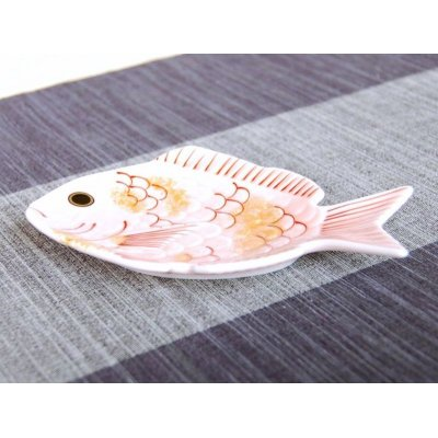Photo2: Sakura tai sea bream Small plate (13.5cm)