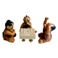 People playing shogi Doll