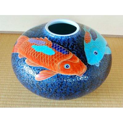 [Made in Japan] Tetsuyu KOI Vase