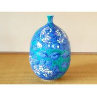 Somenishiki ajisai Vase