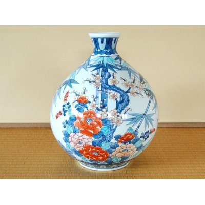 [Made in Japan] Take ume botan Vase