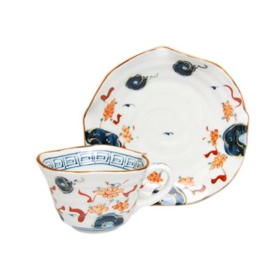 [Made in Japan] Hana manreki Cup and saucer