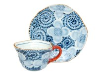 Takokarakusa souka-mon Cup and saucer