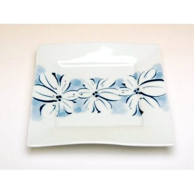 Photo2: Hana-mon obi Medium plate (15.5cm)