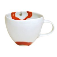 Omoi hana (Red) mug