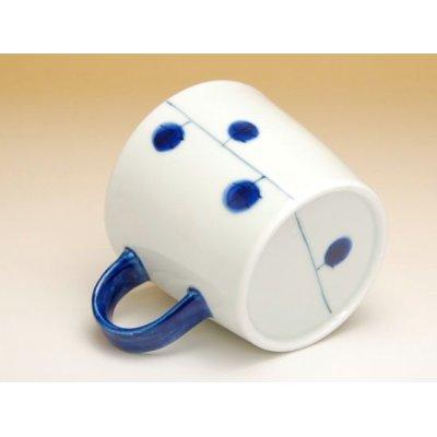 Photo3: Dairin hana (Blue) mug