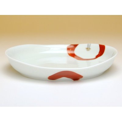 Photo2: Omoibana Medium plate (16.7cm)
