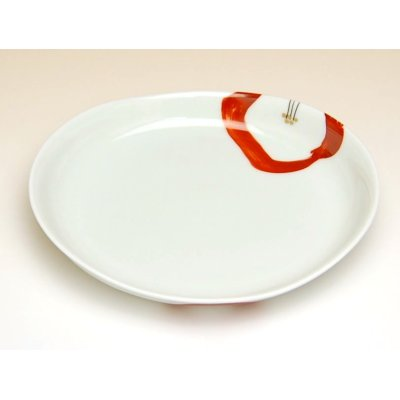 Photo3: Omoibana Medium plate (16.7cm)