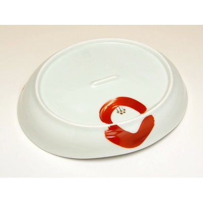 Photo4: Omoibana Medium plate (16.7cm)
