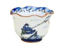 Tsuri sansui Small bowl (7.5cm)