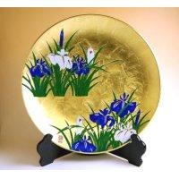 Kinrante Shoubu Ornamental plate(40cm)