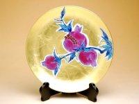 Kinrante Zakuro (Small) Ornamental plate(19cm)