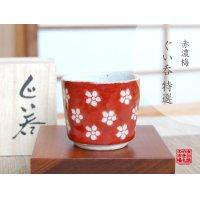 Akadami ume SAKE cup (wood box)