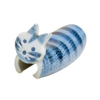 Tebineri neko cat (Blue) Chopstick rest