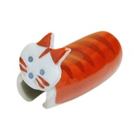 Tebineri neko cat (Red) Chopstick rest