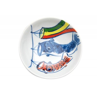 [Made in Japan] <Child tableware>Koinobori Dish