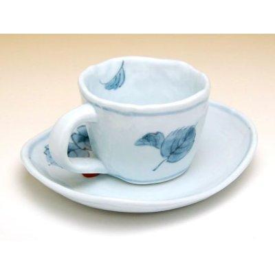 Photo4: Beni Ichigo Cup and saucer