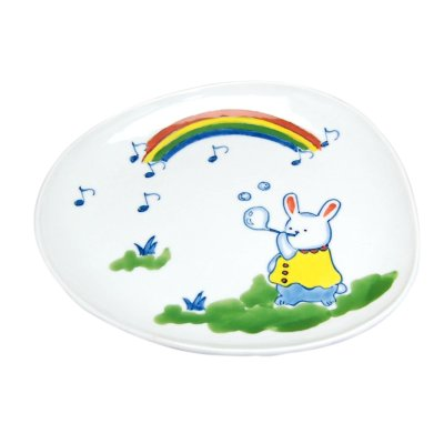 [Made in Japan] <Child tableware>Soap bubble Plate