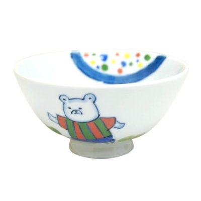 [Made in Japan] <Child tableware>Soccer Rice bowl