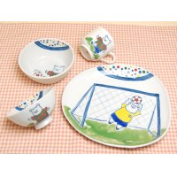 Soccer half set (4 pieces)
