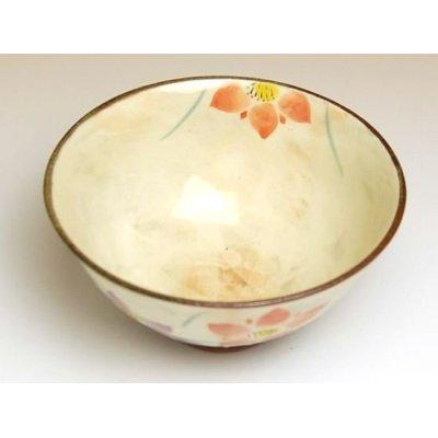 Photo2: Hana rindow (Red) rice bowl
