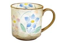 Hana rindou (Blue) mug