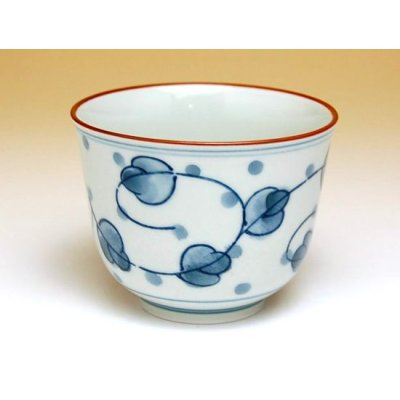Photo3: Miyako gusa Tea set (5 cups & 1 pot)