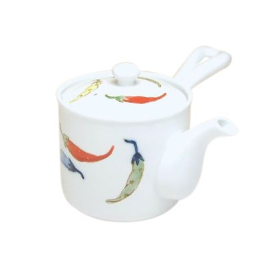 [Made in Japan] Shikisai karashi Teapot
