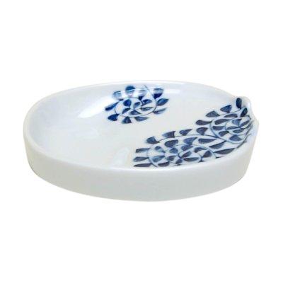 [Made in Japan] Tako karakusa Small plate for soy sauce