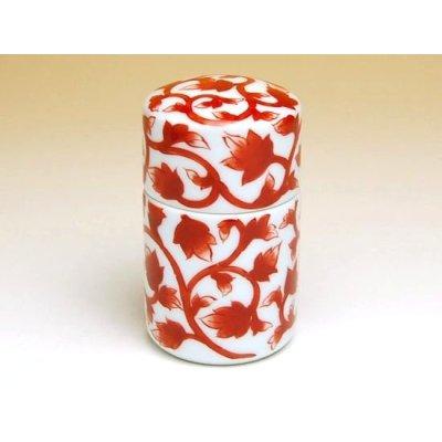 Photo2: Aka-karakusa (Red) Toothpick case