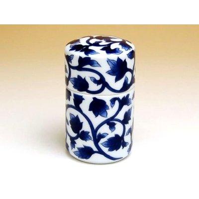 Photo2: Ao-karakusa (Blue) Toothpick case