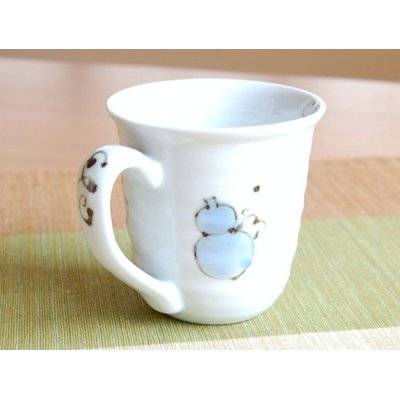 Photo2: Hana mubyo (Blue) mug