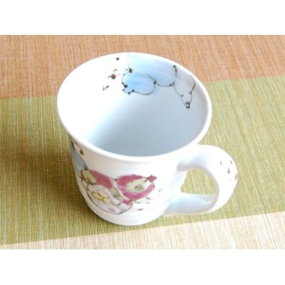 Photo3: Hana mubyo (Blue) mug