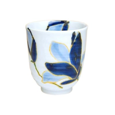 [Made in Japan] Hana monogatari (Large) Japanese green tea cup