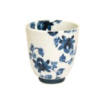 Saika karakusa (Blue) Japanese green tea cup