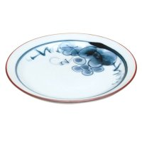 Bdou grape Small plate (13.5cm)