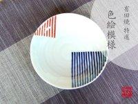 Nishoku line Medium plate (14.4cm)