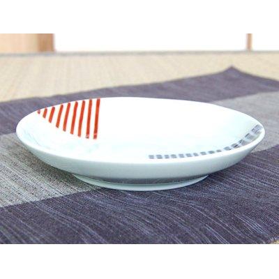 Photo2: Nishoku line Medium plate (14.4cm)