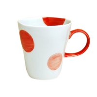 Nisai marumon (Red) mug