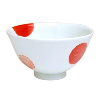 [Made in Japan] Nisai marumon (Small) rice bowl