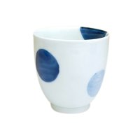 Nisai marumon (Blue) Japanese green tea cup