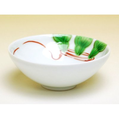 Photo2: Nishiki kabu turnip Small bowl (8.2cm)