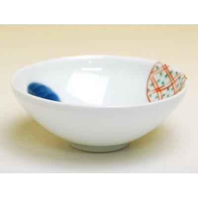 Photo2: Nishiki maru-mon Small bowl (8.2cm)